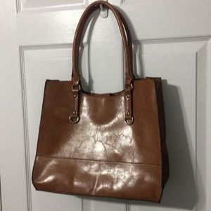 Handbags - Large No Name Faux Leather Purse